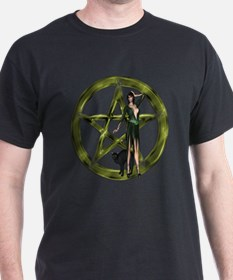 The Wicca Pentacle T-Shirt