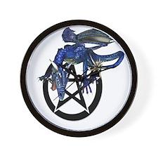 The Dragon Pentacle Symbol Wall Clock