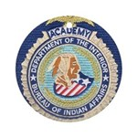 Bureau of Indian Affairs Academy Ornament (Round)