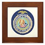 Bureau of Indian Affairs Academy Framed Tile