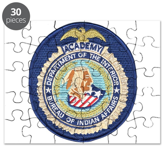 bureau of indian affairs academy puzzle by policeshoppe. Black Bedroom Furniture Sets. Home Design Ideas