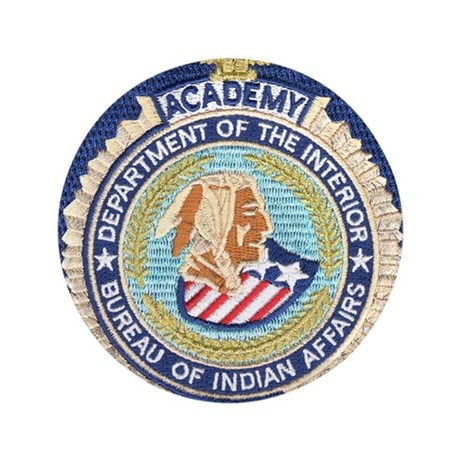 Bureau of indian affairs academy button by policeshoppe for Bureau of indian affairs