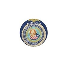 Bureau of Indian Affairs Academy Mini Button