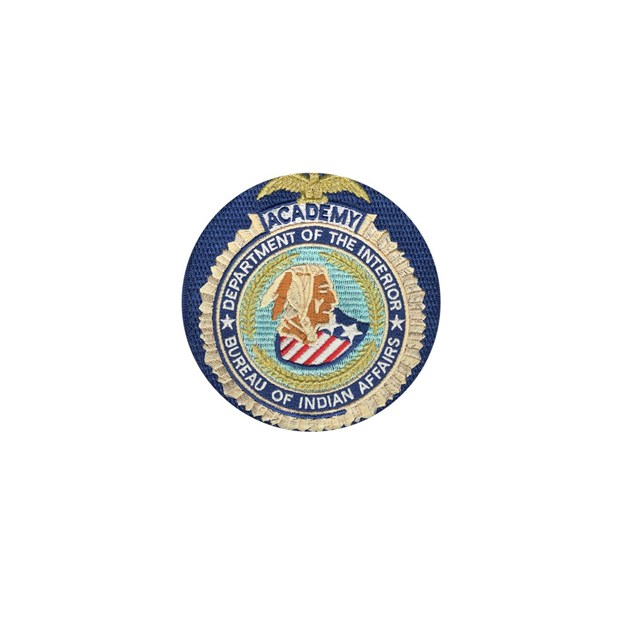 bureau of indian affairs academy mini button by policeshoppe. Black Bedroom Furniture Sets. Home Design Ideas