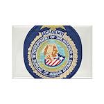 Bureau of Indian Affairs Academy Rectangle Magnet