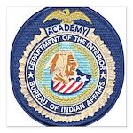 Bureau of Indian Affairs Square Car Magnet 3