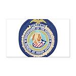 Bureau of Indian Affairs Acad Rectangle Car Magnet