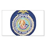 Bureau of Indian Affairs Acade Sticker (Rectangle)