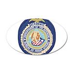 Bureau of Indian Affairs Aca 35x21 Oval Wall Decal