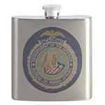 Bureau of Indian Affairs Academy Flask