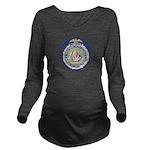 Bureau of Indian Aff Long Sleeve Maternity T-Shirt