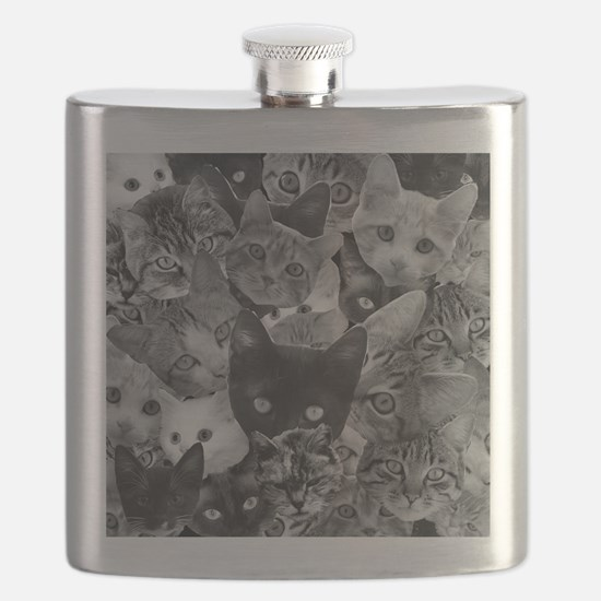 Kitty Collage Flask