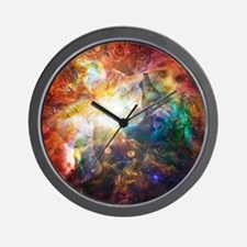 The Cat Galaxy Wall Clock