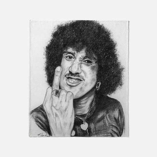 Phil Lynott Throw Blanket