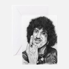 Phil Lynott Greeting Card