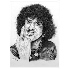 Phil Lynott Poster