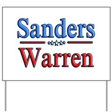 Bernie Sanders Elizabeth Warren For Yard Sign