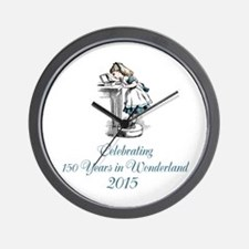 2015 Wonderland Wall Clock