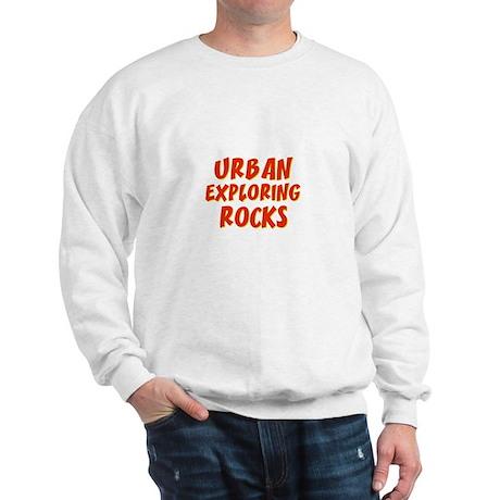 Urban Exploring Rocks Sweatshirt