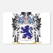 Crichton Coat of Arms - F Postcards (Package of 8)