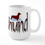Dachshund Large Mug