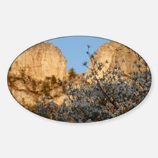 SENECA ROCKS WITH DOGWOOD Decal