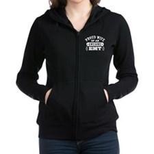 Proud Wife of an Awesome EMT Women's Zip Hoodie