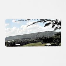 Valley Aluminum License Plate