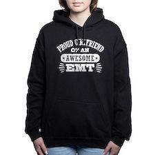 Proud Girlfriend of an A Women's Hooded Sweatshirt