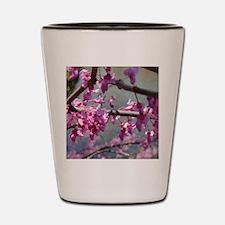 Pink Dogwood Shot Glass