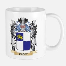 Croft Coat of Arms - Family Crest Mugs