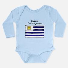 Kiss Me Im Uruguayan Body Suit