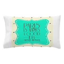 Audrey's Quote Pillow Case