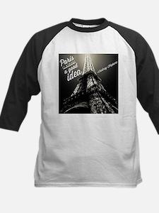 Audrey Hepburn Paris Baseball Jersey