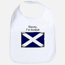 Kiss Me Im Scottish Bib