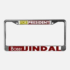 Bobby Jindal for President V1 License Plate Frame