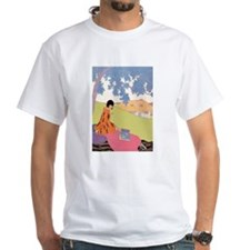 VOGUE - Woman Reading in the Shade Shirt
