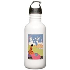 VOGUE - Woman Reading Sports Water Bottle