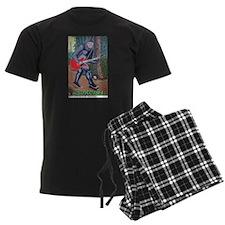 sasqWAH the Sasquatch Pajamas