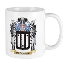 Croucher Coat of Arms - Family Crest Mugs
