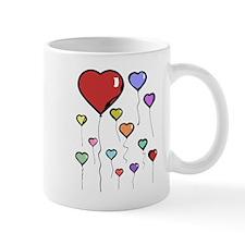 Balloon Hearts Mug