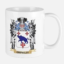 Crowley Coat of Arms - Family Crest Mugs