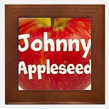 Johnny Appleseed Framed Tile