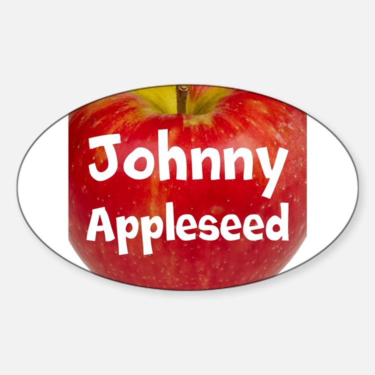 Johnny Appleseed Decal