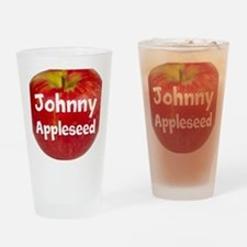 Johnny Appleseed Drinking Glass