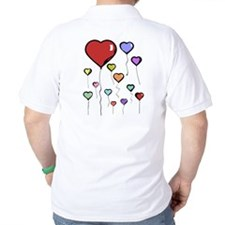 Balloon Hearts T-Shirt