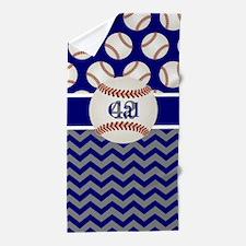 Cute Zig zag pattern Beach Towel