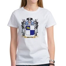 Crufts Coat of Arms - Family Crest T-Shirt