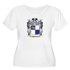 Crufts Coat of Arms - Family Cre Plus Size T-Shirt
