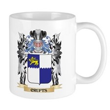 Crufts Coat of Arms - Family Crest Mugs